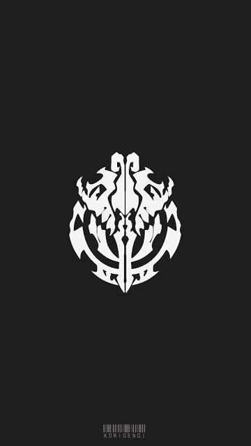nazarick logo overlord wallpaper seni anime seni