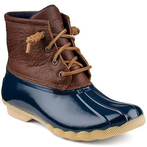 womens duck shoes on sale sperry s saltwater duck boots