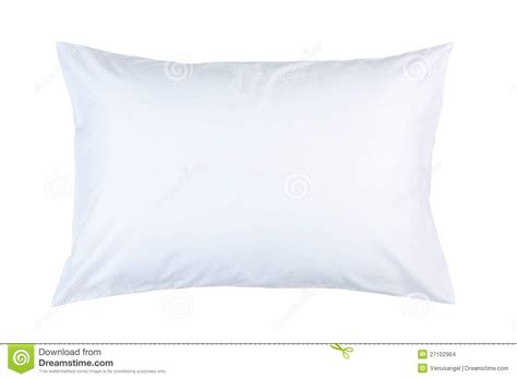 White Pillow Cases by Pillow With White Pillow Stock Images Image 27102964