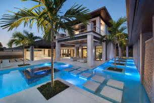 This stunning contemporary luxury home in naples florida was designed