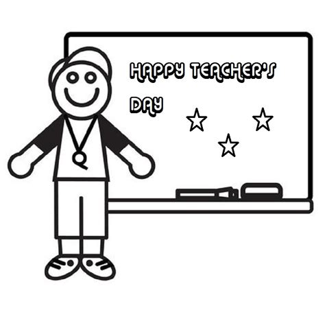Thank You Teacher Coloring Pages Greeting Card Of Teacher Teachers Day Coloring Pages
