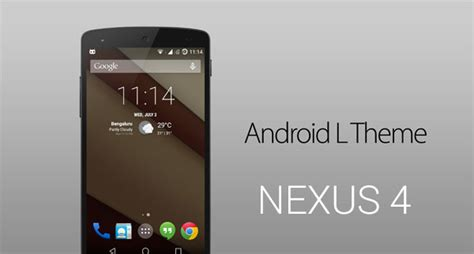 themes android mod android l mod system theme apps for nexus 4 naldotech