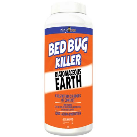 diatomaceous earth food grade bed bugs diatomaceous earth ninja bee bed bug and crawling insect