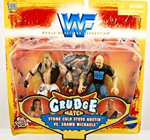 Figure Wwf Grudge Match Steve Cold Vs Bret Hart buy wwf grudge match cold steve vs shawn at low prices in