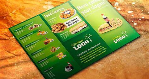 desain brosur food 21 template desain brosur format psd eps dan corel gratis