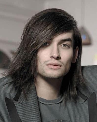 male models with long straight hair cortes y peinados para hombres de pelo lacio o muy lacio