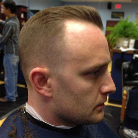 receding hairline fade hairstyles for men with very high or receding hairlines