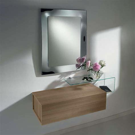 specchio con mensola per ingresso due f mobile ingresso con due cassetti specchio e
