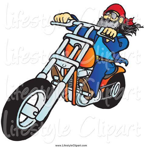 bike clip bikers clipart clipground