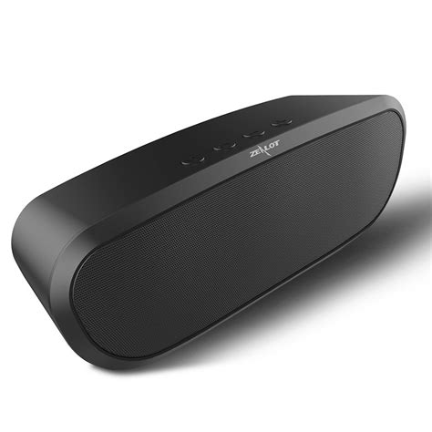 Zealot Mini Portable Bluetooth Speaker Bass S52 zealot s9 wireless bluetooth speaker portable stereo loudspeaker mini bass subwoofer