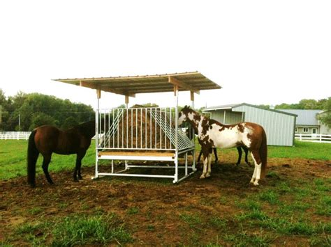 Hay Racks For Horses by Hay Saver Feeders Klene Pipe Structures