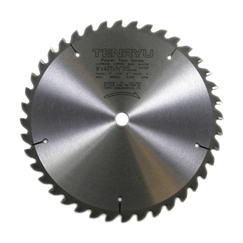 Table Saw Blade by Hardware Sales Tenryu Pt 23040 9 Inch 40t Miter Table Saw