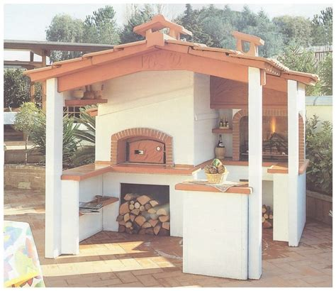 forni da giardino in muratura prezzi forni a legna prefabbricati da giardino pmc