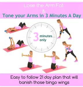 lose arm fat and tone your arms in just 3 minutes a day