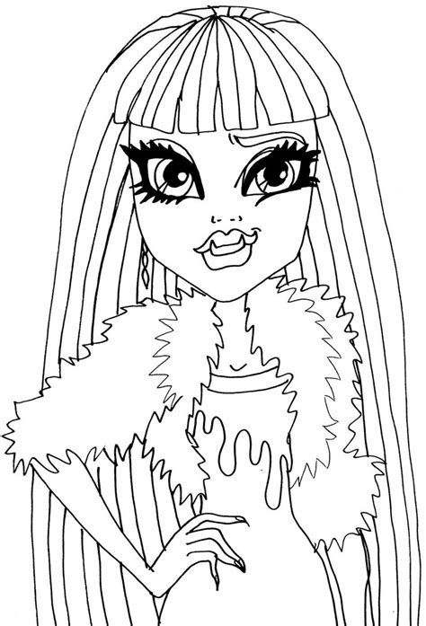 coloring pages monster high abbey picture day abbey by elfkena on deviantart
