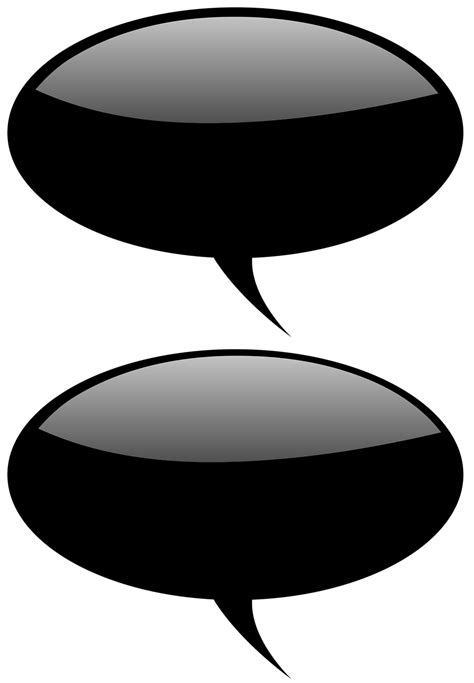 Speech Bubble   Free Stock Photo   Collection of glossy