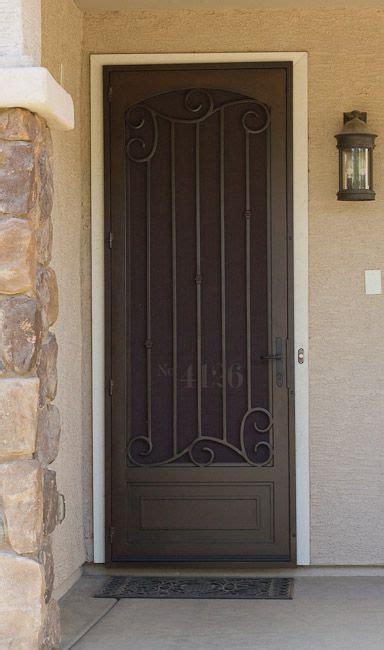 Security Front Door Screens Security Door On Doors Window Security And Doors