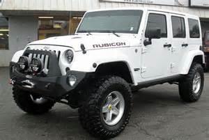 2014 jeep rubicon white