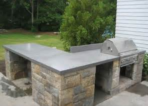 outdoor kitchen countertops ideas best 25 outdoor countertop ideas on diy