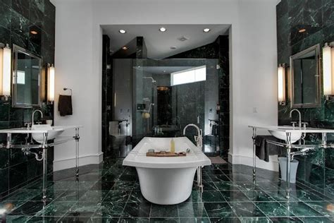 a green marble bathroom bathrooms pinterest