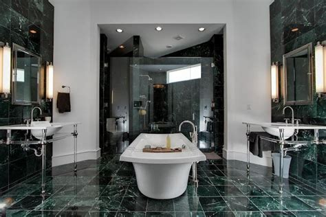 Green Marble Bathroom Ideas for This Spring
