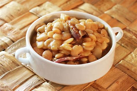 The Bean Lima Comes In Like A by Cooker Baby Lima Beans With Ham Recipe