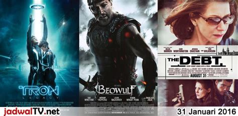 jadwal film indonesia februari 2016 jadwal film 31 januari 2016 jadwal tv