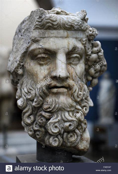 dionysus greek god statue greek mythology dionysus god of wine roman statue 2nd