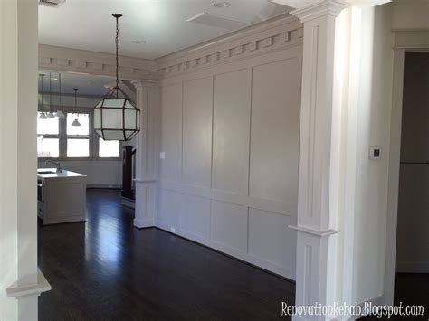 Wall Wainscoting by Renovation Rehab Wonderful Wainscoting