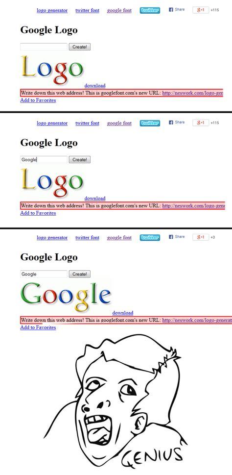 Google Meme Maker - google logo generator
