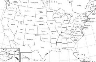 maps us map black and white