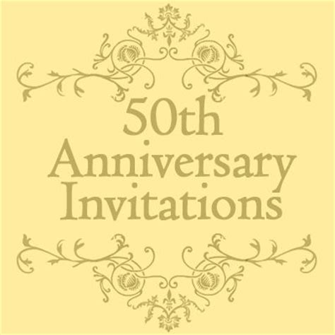 golden anniversary invitations templates the world s catalog of ideas