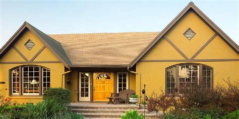 beautiful yellow exterior paint images decoration design