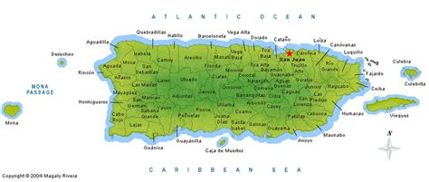 printable map puerto rico puerto rico map 78 municipalities la chuleta congel 193