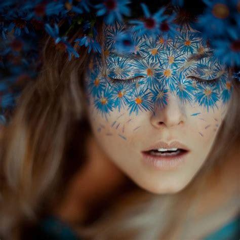 flower makeup painting 25 coolest floral makeup looks