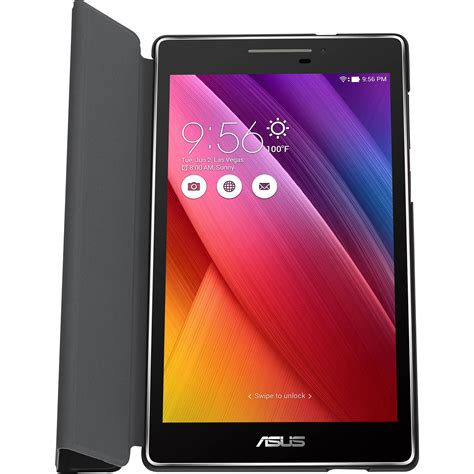 Tablet Asus Zenpad 7 asus zenpad 7 0 tricover black 90xb015p bsl3k0 b h photo