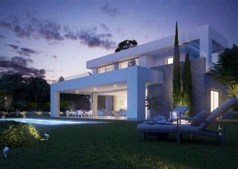 villas for sale la contemporary villas for sale in la cala de mijas azure