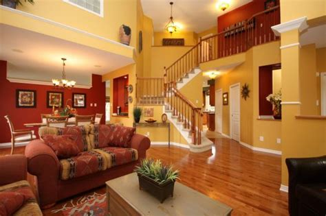 beginning  repaint  home burgundy living room