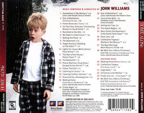 site home alone soundtrack williams