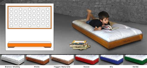 lettino futon lettino montessori di woodly