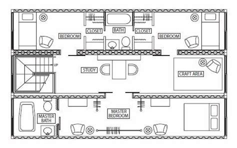 Storage Container Floor Plans 3 2 1 Go Instant Shipping Container House The Plan