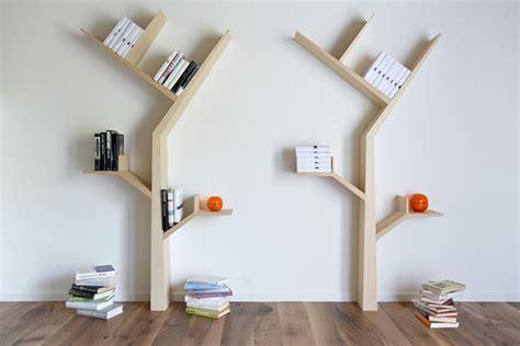 Rak Buku Pohon 5 ide kreatif untuk desain rak buku minimalis merdeka