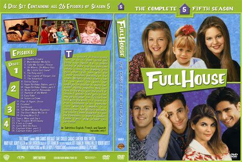 full house on dvd full house season 5