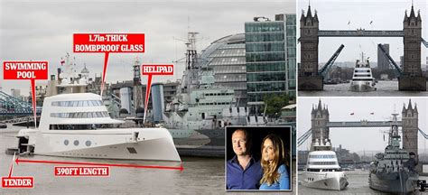 russian tycoon bombproof superyacht on the river thames russian tycoon bombproof superyacht on the river thames