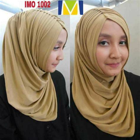 Tuspin Permata jual harga kerudung jilbab modern syari