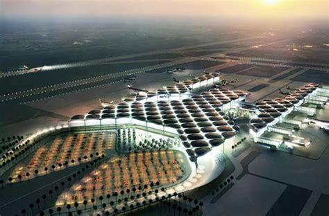 Eco House Plans Energy Efficient Queen Alia Airport By Foster Partners