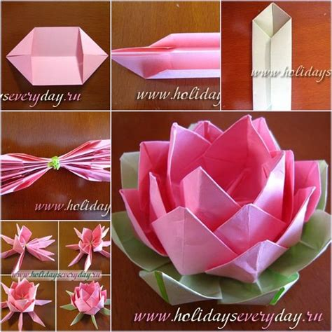 How To Make A Paper Lotus Step By Step - 25 best ideas about paper lotus on crepe