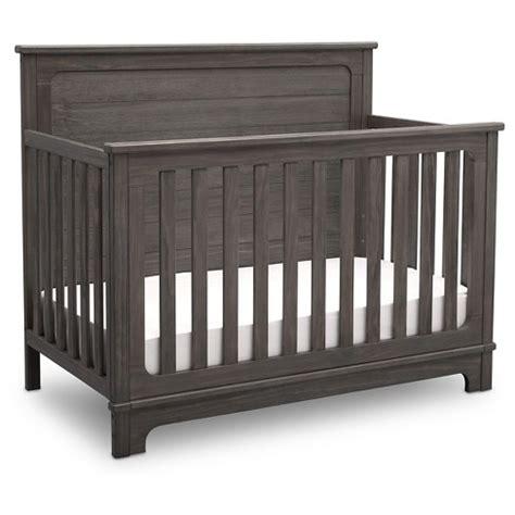Simmons Baby Cribs Simmons 174 Slumbertime Monterey 4 In 1 Convertible Crib Rustic Gray Target