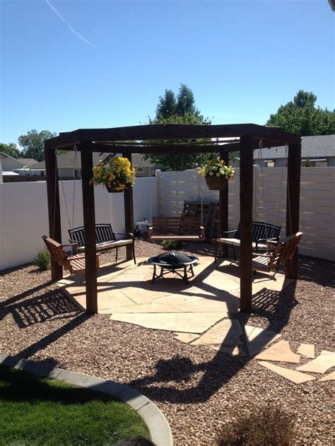 pergola with pit 37 best images about pits on backyards