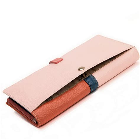 Purse Nucelle Pink 070347 04 nucelle selling cowhide leather wallet pink